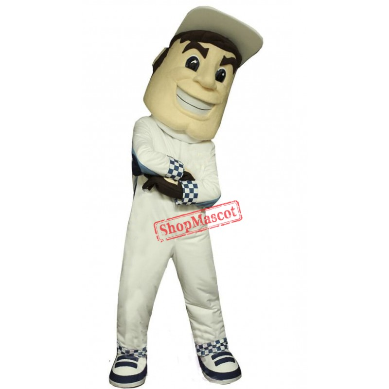 High Quality Driver Mascot Costume