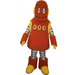 Cute Robot Mascot Costume
