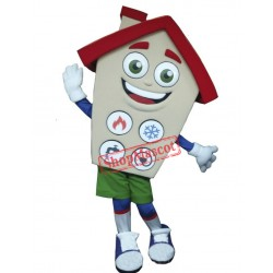 High Quality Lightweight House Mascot Costume