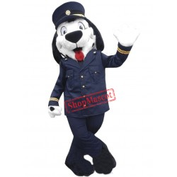 Uniform Dog Mascot Costume