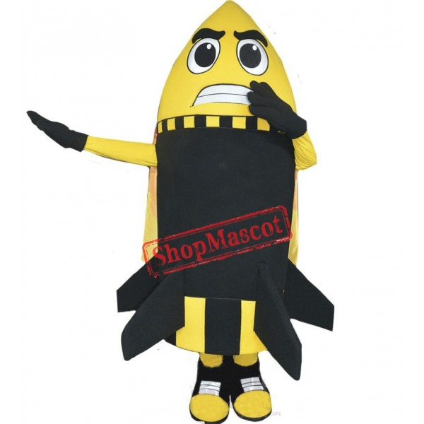 Power Rocket Mascot Costume