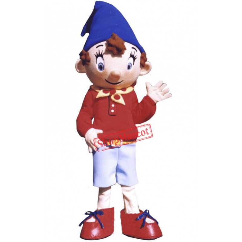 Noddy Elf Mascot Costume
