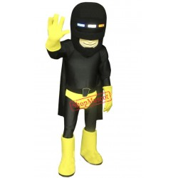 Super Hero Police Mascot Costume