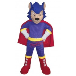 Cartoon Hedgehog Mascot Costume