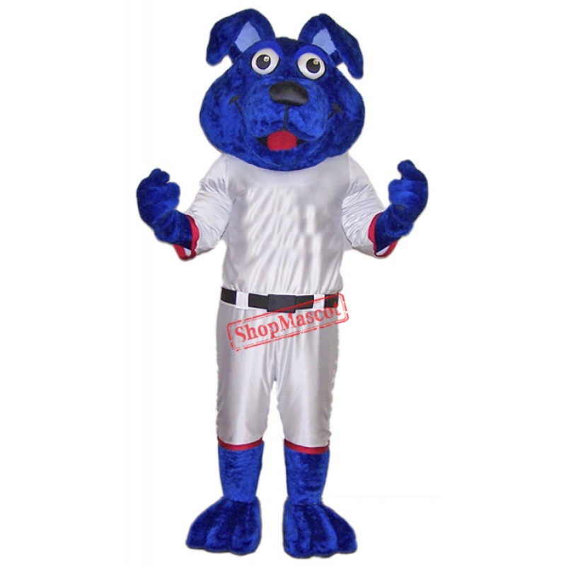Blue Lightweight Dog Mascot Costume