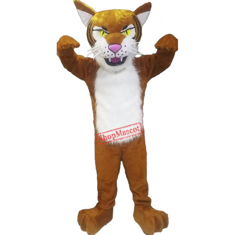 Fierce Lightweight Tiger Mascot Costume