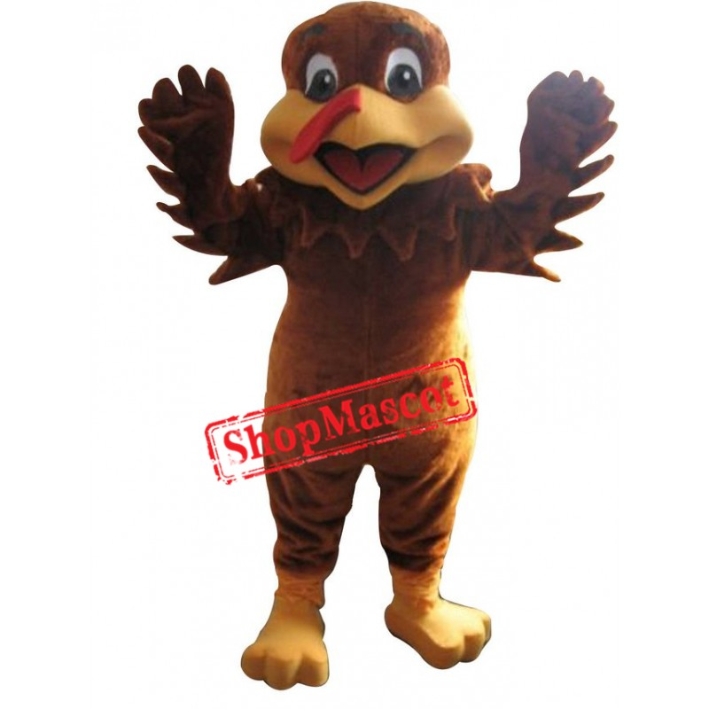 Turkey Mascot Costume Adult Animal Costume