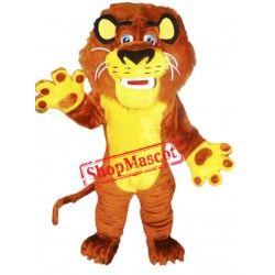 Lion Mascot Costume Adult Animal Costume