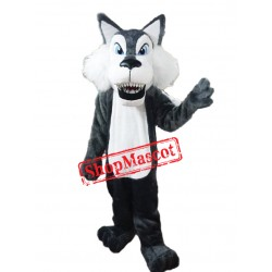 Fierce Lightweight Wolf Mascot Costume