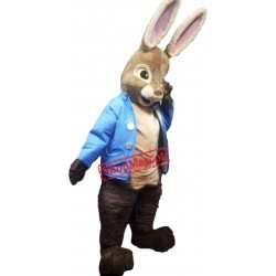 High Quality Peter Rabbit Mascot Costume