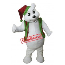 Christmas Bear Mascot Costume Free Shipping