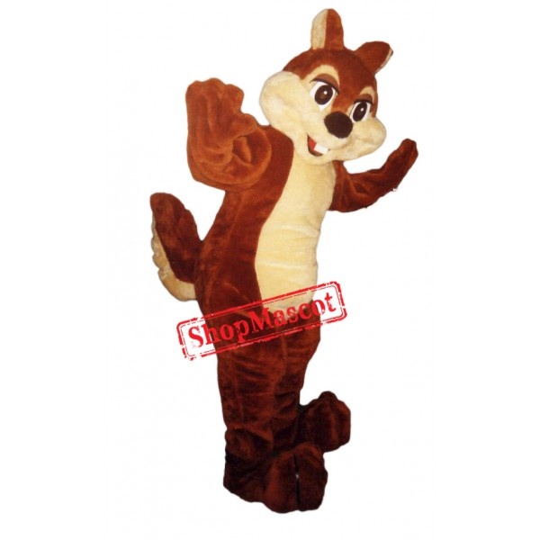 Cute Lightweight Chipmunk Mascot Costume