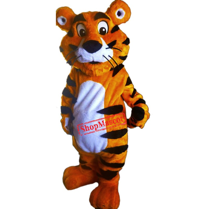 Tiger Mascot Costume Adult Animal Costume