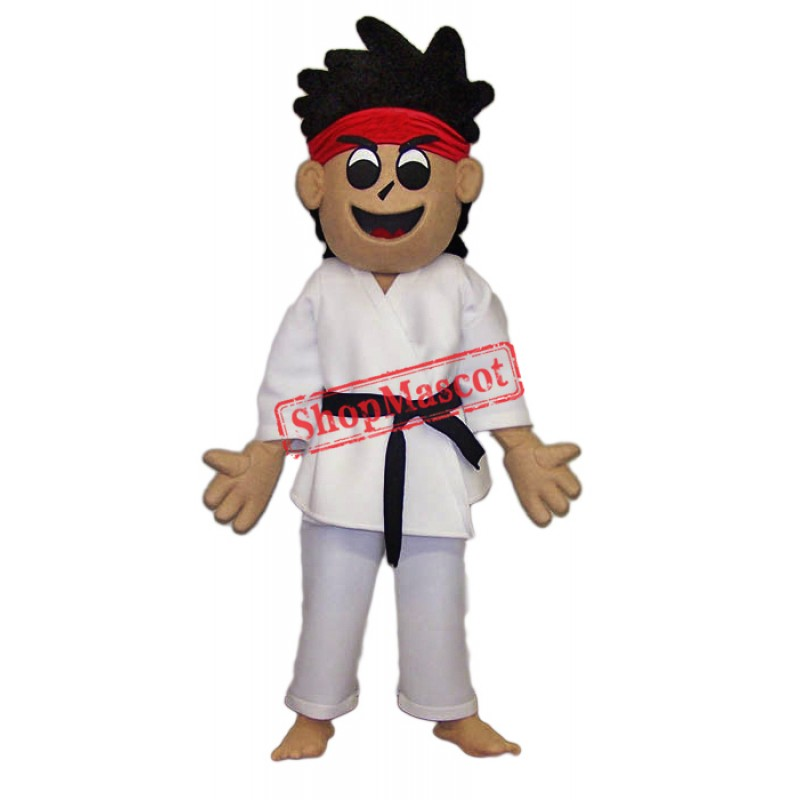 karate Kid Mascot Costume