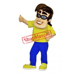 Recycle Boy Mascot Costume