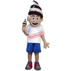 Ice Creamy Boy Mascot Costume