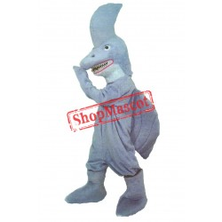 Fierce Lightweight Shark Mascot Costume