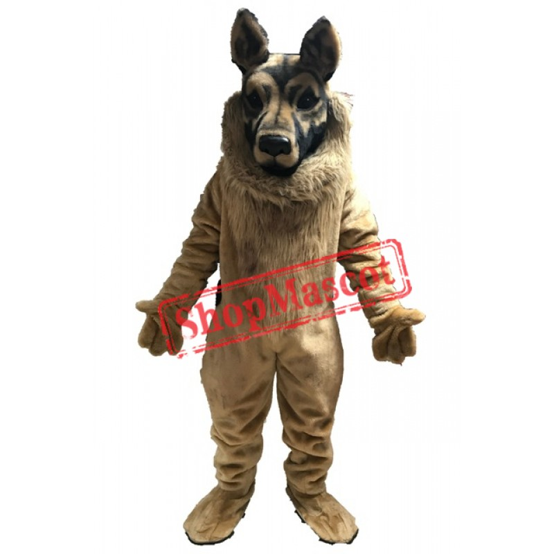 Black Poodle Dog Mascot Costume