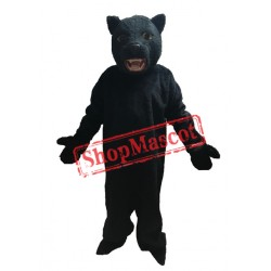 Fierce Black Panther Mascot Costume Free Shipping
