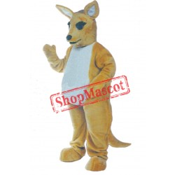 Friendly Lightweight Kangaroo Mascot Costume