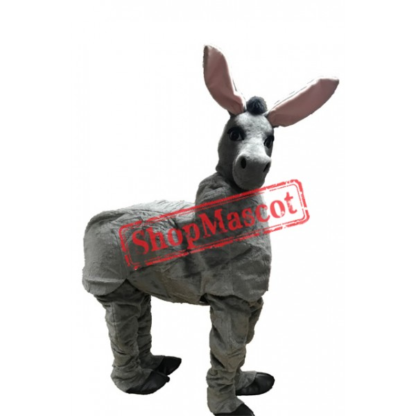 Two Person Donkey Mascot Costume Free Shipping