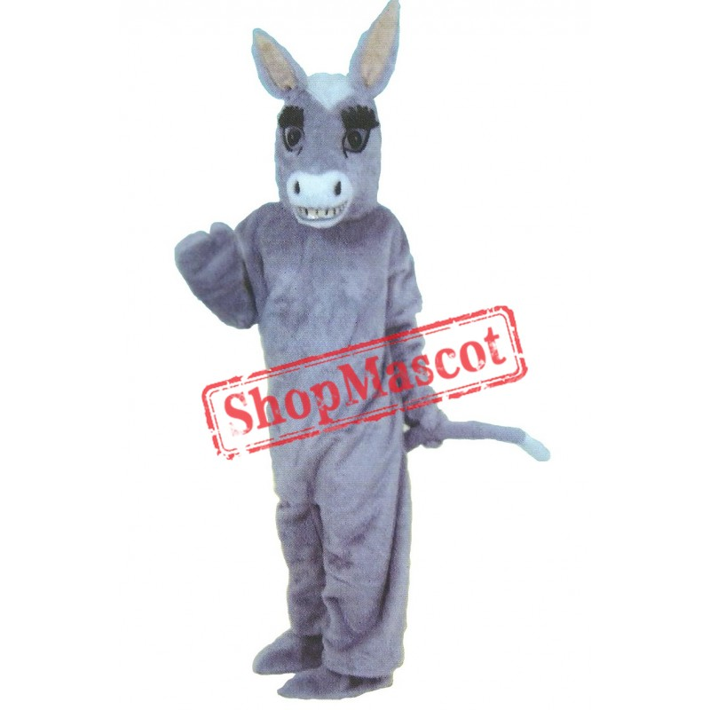 Cute Lightweight Donkey Mascot Costume