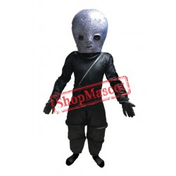 Alien Warrior Mascot Costume