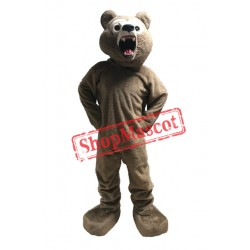Fierce Lightweight Grizzly Bear Mascot Costume