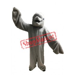 High Quality Furry Dolphin Mascot Costume