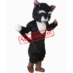 Lovely New Black Cat Mascot Costume