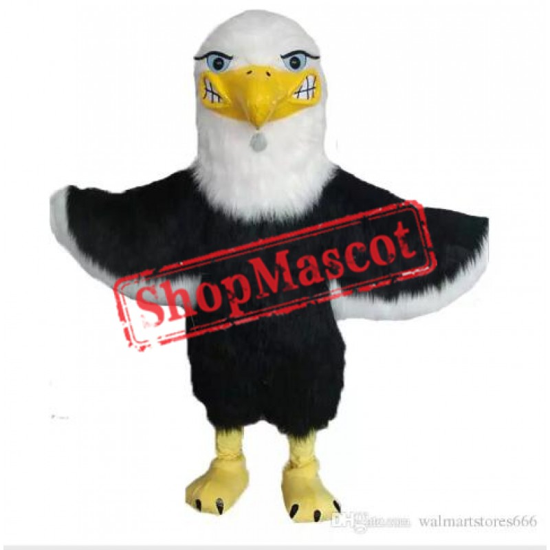 Fierce Lightweight Bald Eagle Mascot Costume