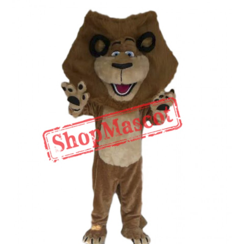 Happy Lion Mascot Costume For Festival