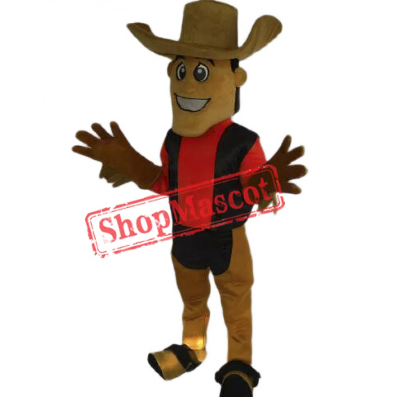 Lovely Cowboy Mascot Costume