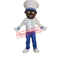 Chocolate Chef Uncle Mascot Costume