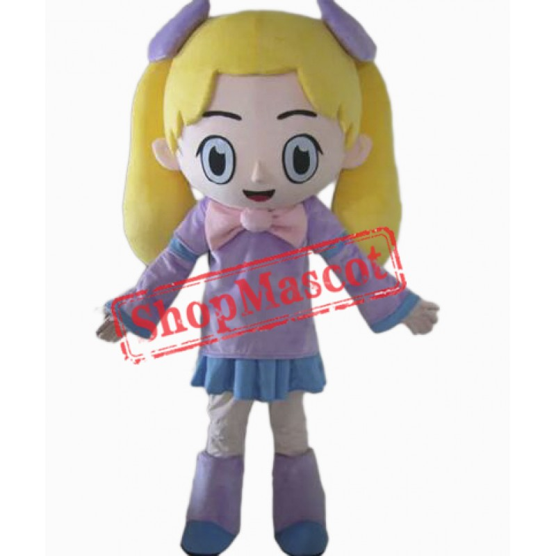 Lovely Girl Mascot Costume
