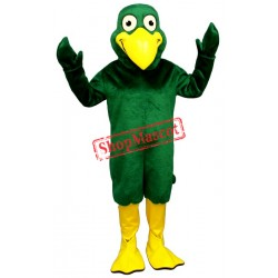 Greenie Bird Mascot Costume