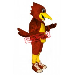 Road Runner with Shoes Mascot Costume