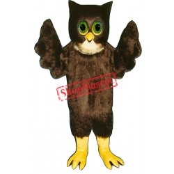 Wise Owl Mascot Costume