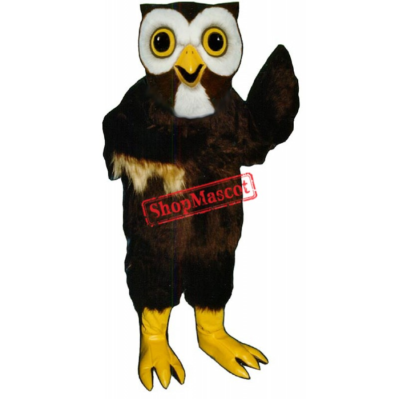 Night Owl Mascot Costume