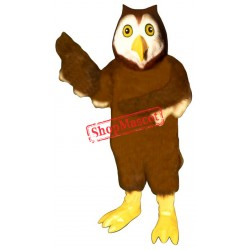 Horned Owl Mascot Costume