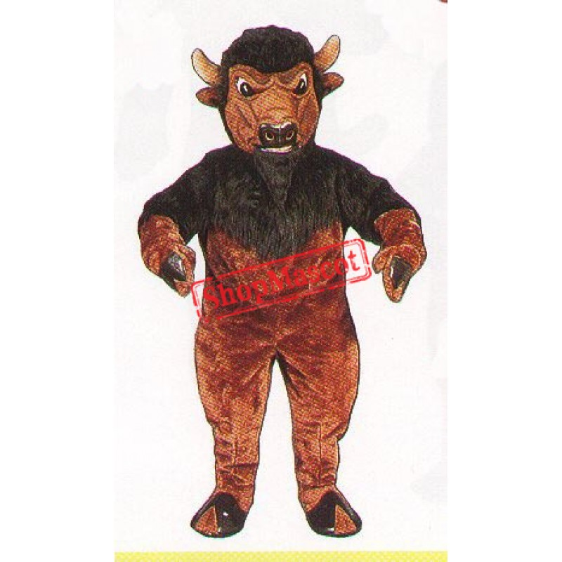 Bison Buffalo Mascot Costume