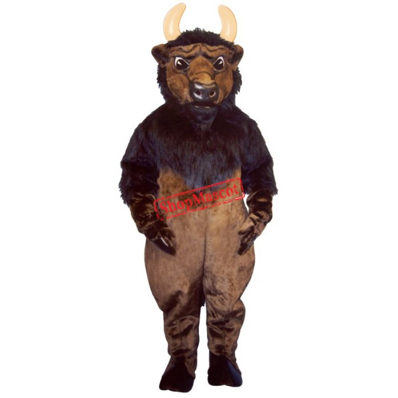 Buddy Buffalo Mascot Costume