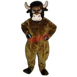 Cartoon Bull Mascot Costume