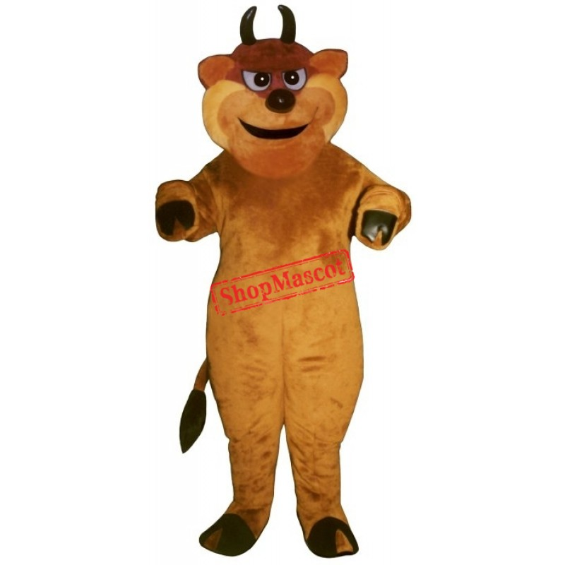 Tough Bull Mascot Costume
