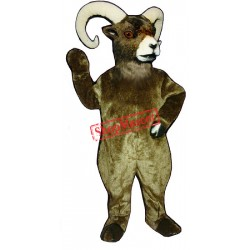 Mountain Goat Mascot Costume