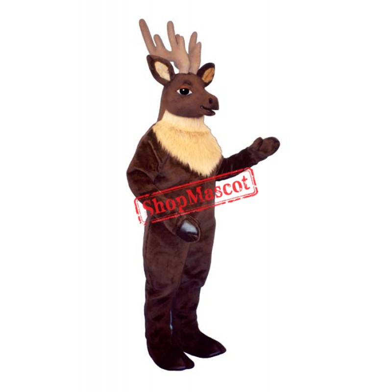 Regal Elk Deer Mascot Costume