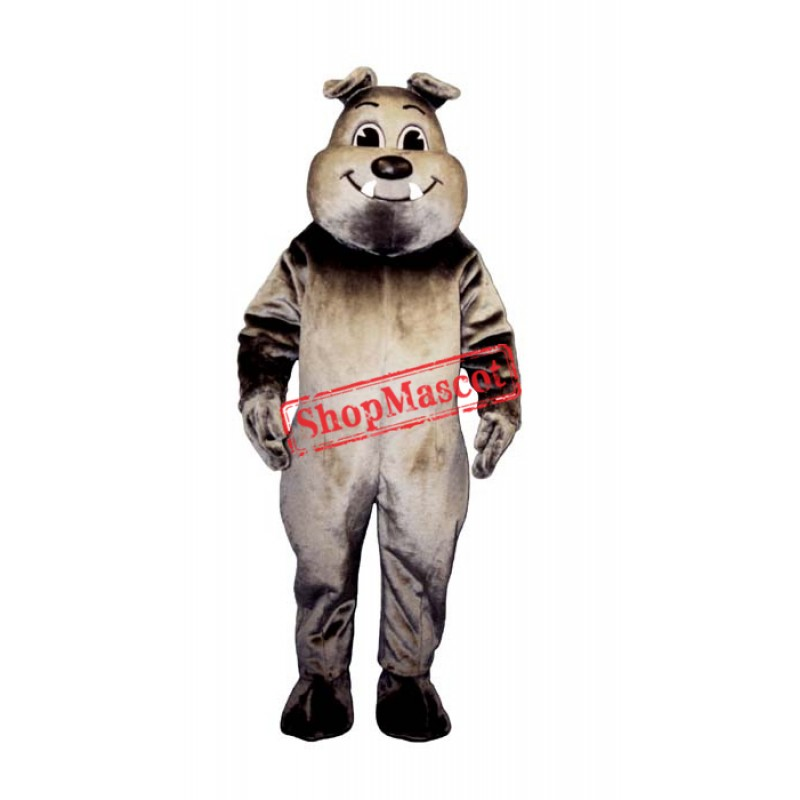 Tuffy Bulldog Mascot Costume