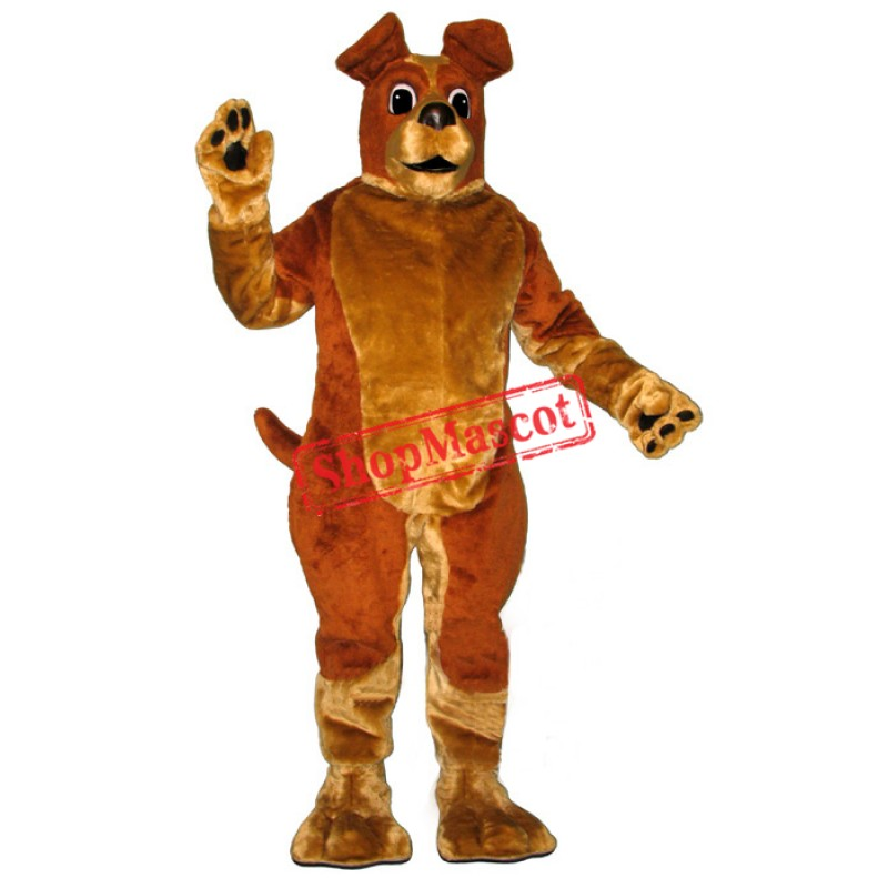 Pound Puppy Dog Mascot Costume