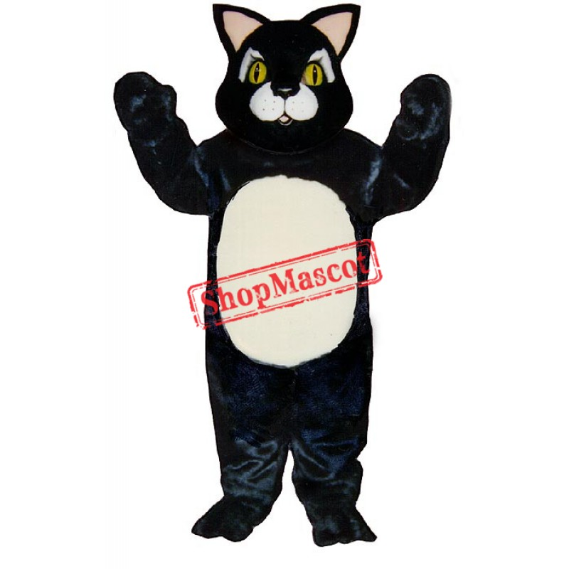 Blackie Cat Mascot Costume