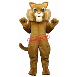 Miss Boots Cat Mascot Costume